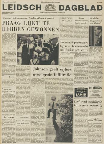 Leidsch Dagblad 1968-08-01