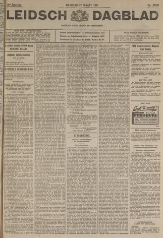 Leidsch Dagblad 1933-03-27