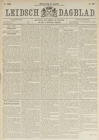 Leidsch Dagblad 1894-04-02