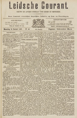 Leydse Courant 1887-01-31