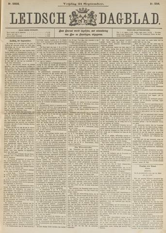 Leidsch Dagblad 1894-09-21
