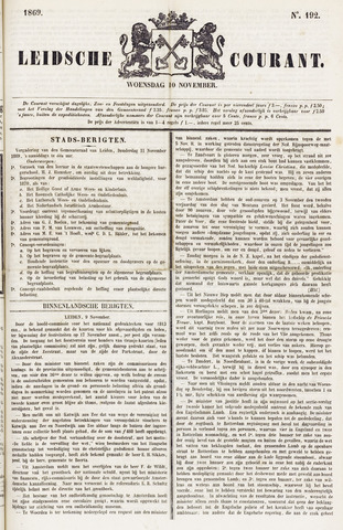 Leydse Courant 1869-11-10