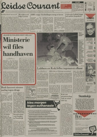 Leidse Courant 1989-09-05
