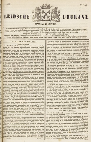 Leydse Courant 1872-10-29
