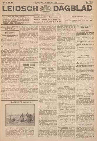 Leidsch Dagblad 1928-09-20