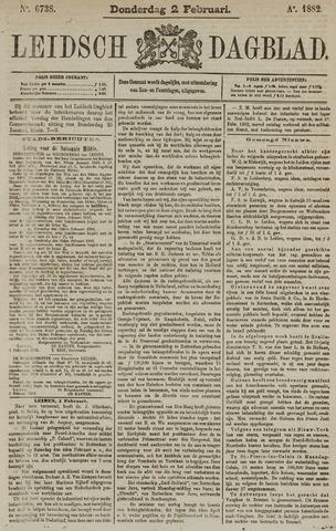 Leidsch Dagblad 1882-02-02