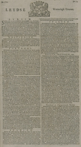 Leydse Courant 1726-01-30
