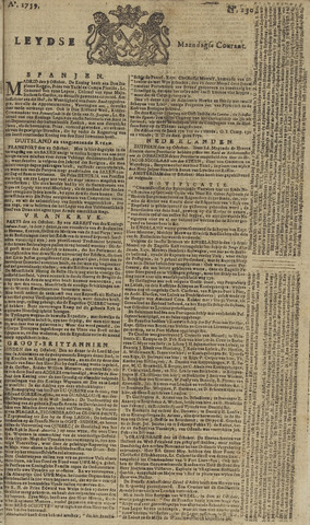 Leydse Courant 1759-10-29