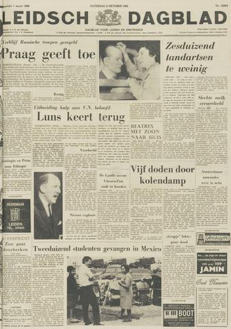 Leidsch Dagblad 1968-10-05
