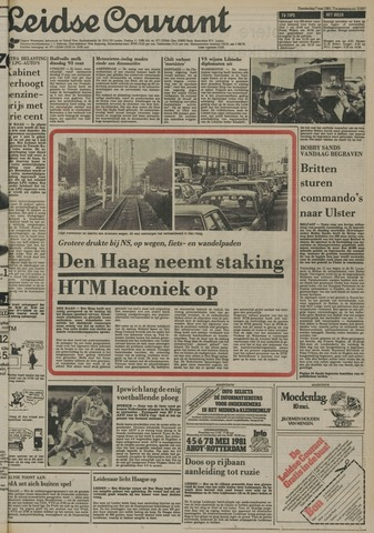 Leidse Courant 1981-05-07