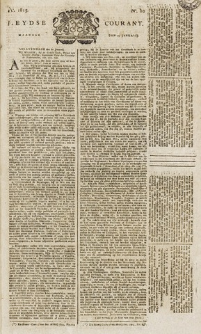 Leydse Courant 1815-01-23