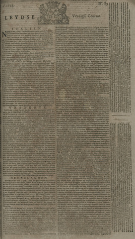 Leydse Courant 1743-07-26