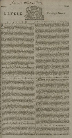 Leydse Courant 1725-06-06