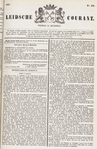 Leydse Courant 1877-08-10