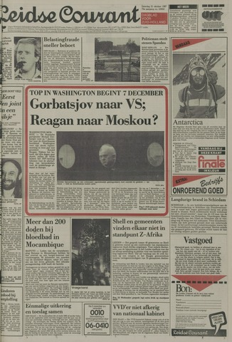 Leidse Courant 1987-10-31