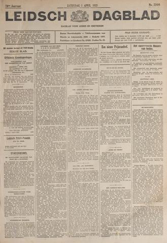 Leidsch Dagblad 1933-04-01