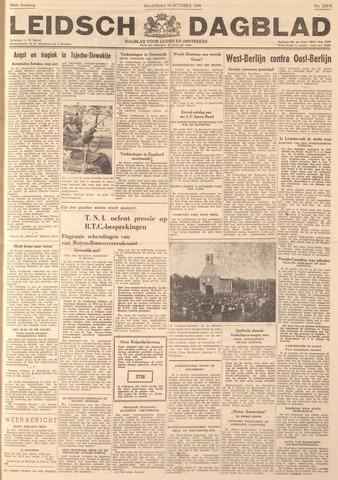 Leidsch Dagblad 1949-10-10