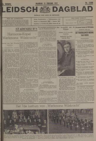 Leidsch Dagblad 1937-02-15