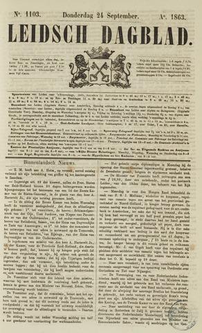 Leidsch Dagblad 1863-09-24