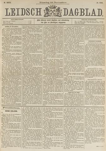 Leidsch Dagblad 1894-11-13