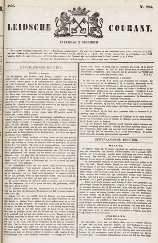 Leydse Courant 1876-12-02