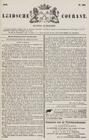 Leydse Courant 1884-12-15