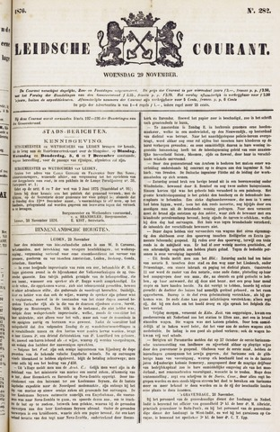 Leydse Courant 1876-11-29
