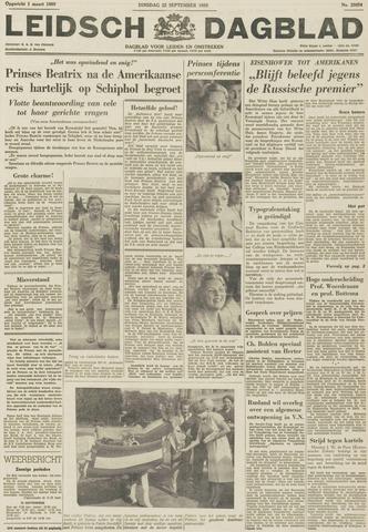 Leidsch Dagblad 1959-09-22