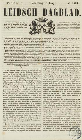 Leidsch Dagblad 1863-06-18