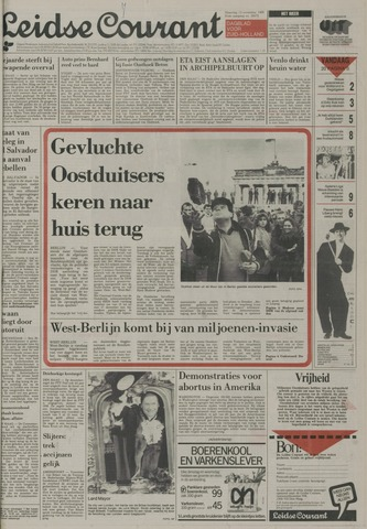Leidse Courant 1989-11-13