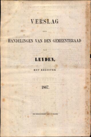 Handelingen van de Raad 1867-01-01