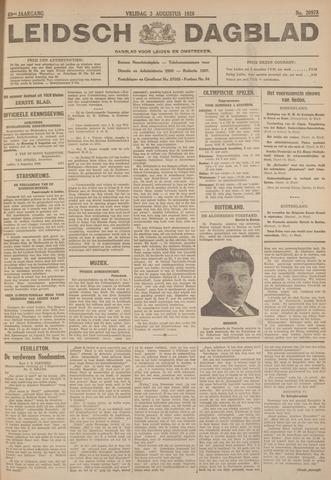 Leidsch Dagblad 1928-08-03