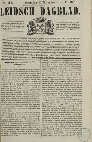 Leidsch Dagblad 1861-11-13