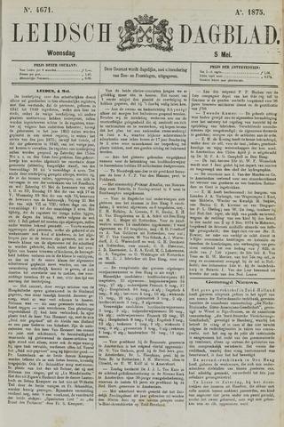 Leidsch Dagblad 1875-05-05