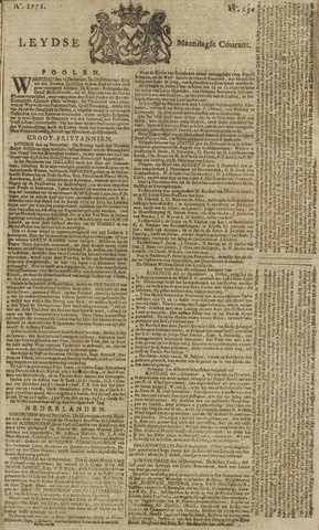 Leydse Courant 1771-12-30