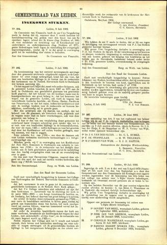 Handelingen van de Raad 1902-07-09