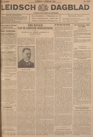 Leidsch Dagblad 1930-02-08