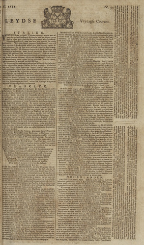 Leydse Courant 1754-04-26