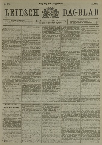 Leidsch Dagblad 1909-08-13