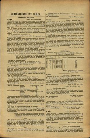 Handelingen van de Raad 1886-09-02