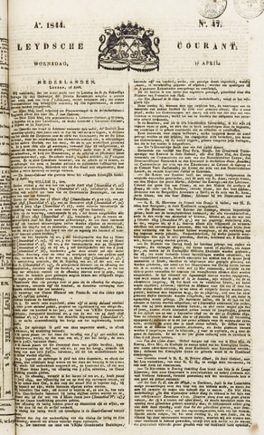 Leydse Courant 1844-04-17