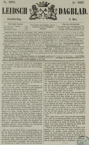 Leidsch Dagblad 1867-05-02