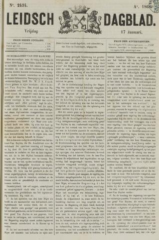 Leidsch Dagblad 1868-01-17