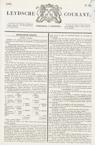Leydse Courant 1855-08-08