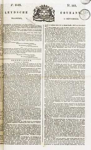 Leydse Courant 1843-09-11
