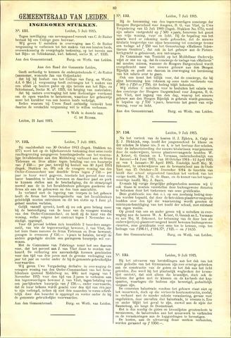 Handelingen van de Raad 1915-07-05
