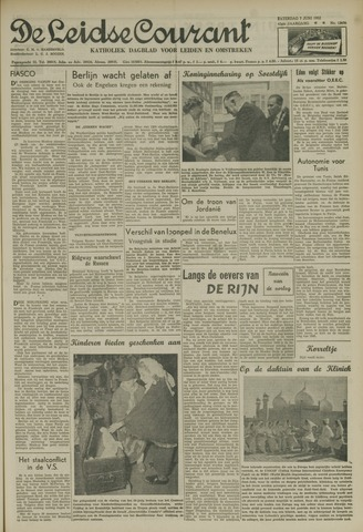 Leidse Courant 1952-06-07