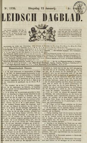 Leidsch Dagblad 1864-01-12