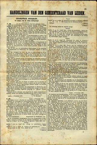 Handelingen van de Raad 1871-11-04