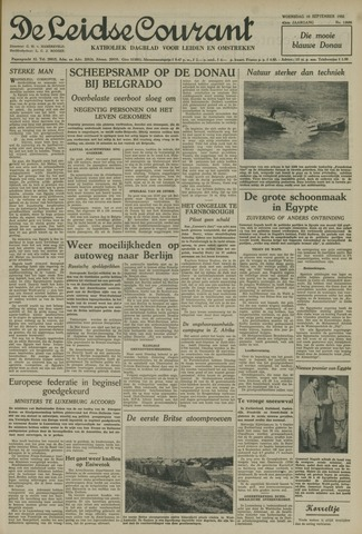 Leidse Courant 1952-09-10